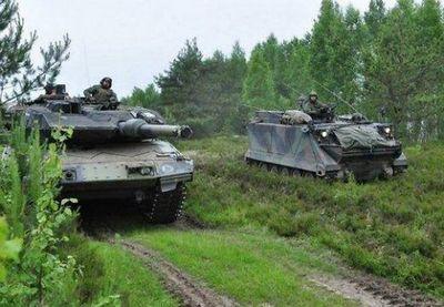 1,5 Тысячи натовцев спасли сувалкский коридор от российско-белорусского вторжения - «военные действия»