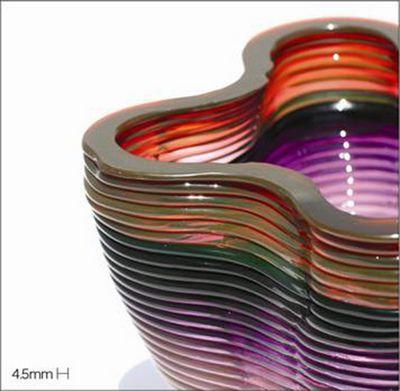 3D-принтер печатает раскалённым стеклом