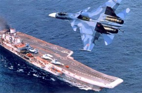 «Адмирал кузнецов» в окружении стаи кораблей - «новости дня»