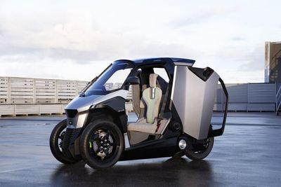 Аэромобиль: гибридный трицикл