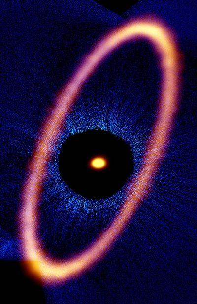 Астрономы запечатлели «око саурона»