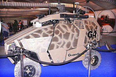 Автомобиль-беспилотник guardium