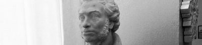 Белый пушкин донецкого художественного музея - «военные действия»