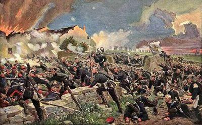 Битва при коломбей — нуйльи - «военные действия»