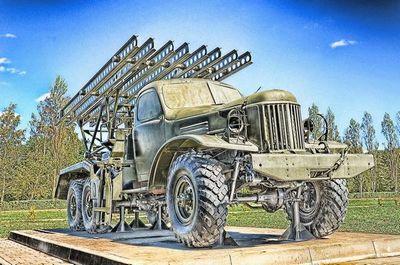 Боевая машина бм-13 «катюша»