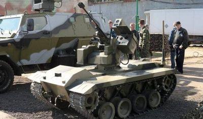 Боевой робот нерехта сможет бороться с танками - «военные действия»