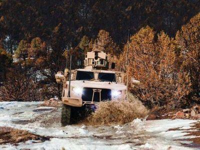 Британия закупает новейшие американские бронеавтомобили oshkosh l-atv - «военные действия»