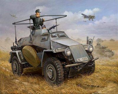 Броневики-разведчики вермахта