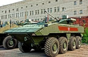 «Бумеранг» крупного калибра. зачем российской армии колесные танки - «новости дня»