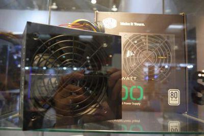 Coolermaster на cebit 2017: блоки питания, вентиляторы и кое-что еще