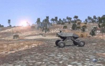 Darpa демонстрирует некоторые из возможностей танка следующего поколения gxv-t