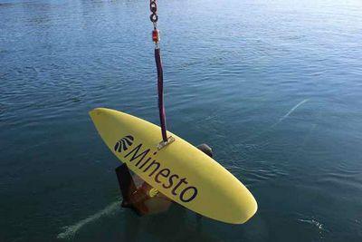 Deep green - устройство конвертации энергии подводных течений в электричество