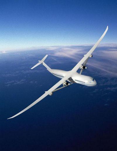 Диетический лайнер: авиалайнер 2030