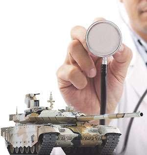 Доктор для танка - «военные действия»