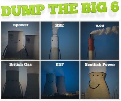 Dump the big 6: агрессивно-зелёная кампания от ecotricity