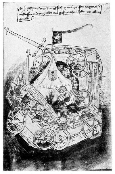 Европейская полевая артиллерия в эпоху гуситских войн