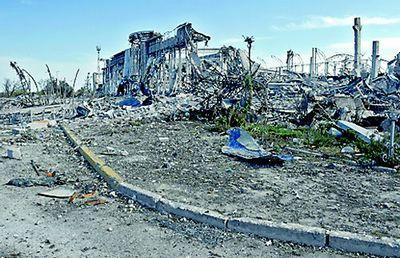 Французская делегация осмотрела развалины донецкого аэропорта и свято-иверского монастыря для подготовки спецдоклада - «военные действия»