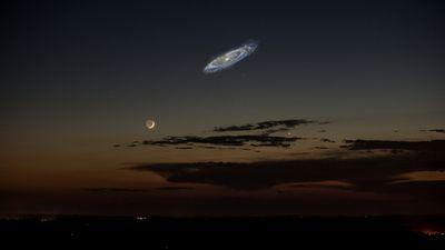 Галактика андромеды, возможно, равна по размеру млечному пути