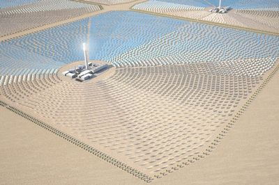 Гигантская солнечная теплоэлектростанция в тунисе может запитать англию
