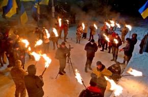 Горящие палки майданных скакунов - «новости дня»