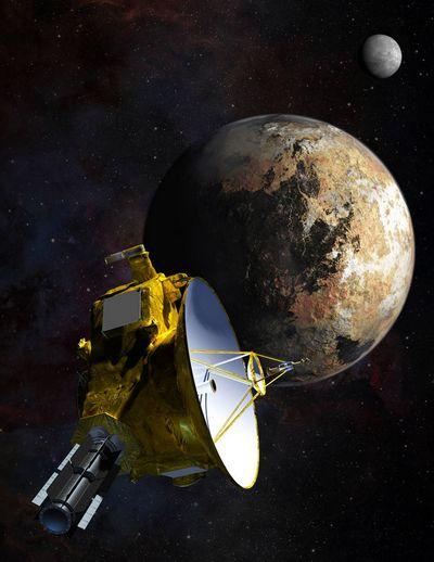 Гравитационный танец спутников плутона удивил ученых