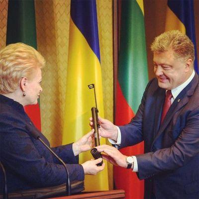 Грибаускайте в харькове: литва поможет украине блокировать строительство северного потока-2 - «военные действия»