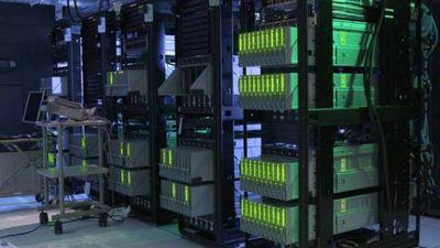 Hewlett packard enterprise показала очередной прототип компьютера the machine со 160 тб памяти