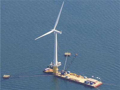 «Hywind» - первый в мире плавающий ветрогенератор достиг пункта назначения