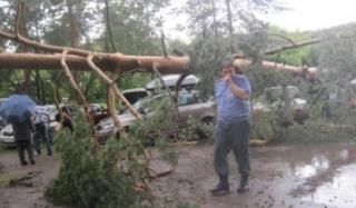 Ильменский фестиваль остановил ураган