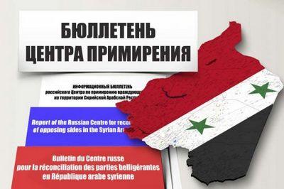 Информация российского центра по примирению в сирии на 23 марта - «военные действия»