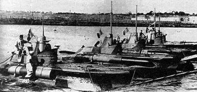 Итальянские подводные «москиты»