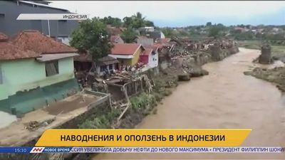 Из-за стихии в индонезии погибли 20 человек
