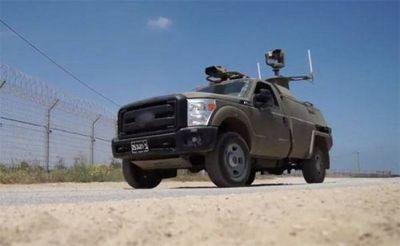 Израиль патрулирует границу с сектором газа с помощью беспилотных автомобилей - «военные действия»