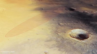 Известно место посадки спускаемого модуля миссии экзомарс