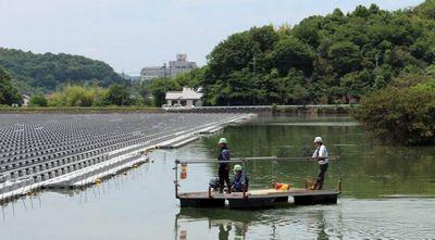 Япония начала борьбу с нехваткой энергии с помощью плавучих солнечных электростанций