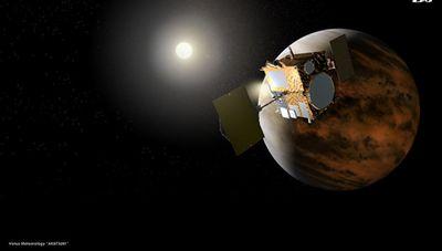 Японский зонд увидел на венере аномально большую волну