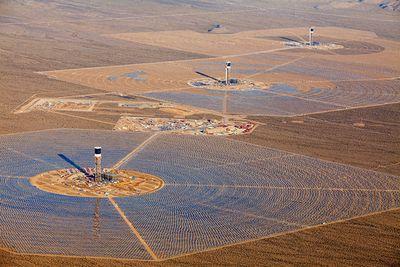 Электростанция в 300 мватт в мохаве