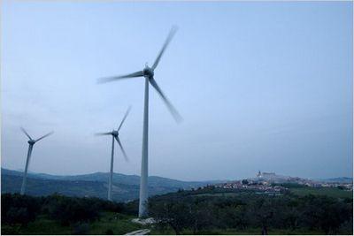 Энергия ветра в италии: думай локально, очень локально