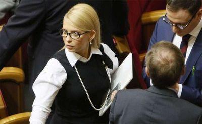 Юлия тимошенко объявила о выходе батькивщины из коалиции с порошенко, назвав коалицию не имеющей шансов стаей - «военные действия»