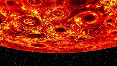 «Юнона» раскрывает секреты юпитерианских циклонов