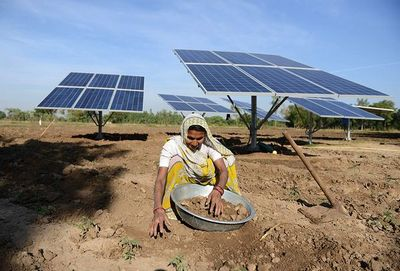К 2030 году в индии 40% энергии будут давать возобновляемые источники