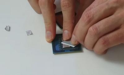 Качество термоинтерфейса между кристаллом cpu и теплораспределительной крышкой процессоров ryzen оказалось отличным
