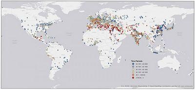 Как города заселяли планету: видео