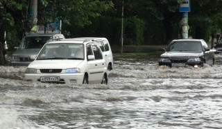 Камчатку из-за мощного циклона затопило дождями