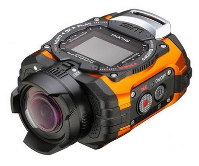 Камера ricoh wg-m1 необычной формы будет предназначена для любителей экстремального спорта