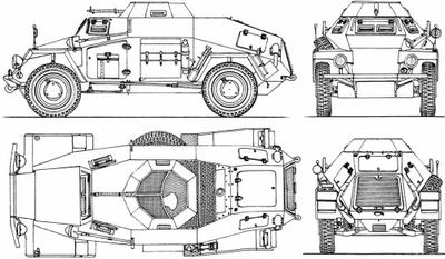 Колёсная бронетехника времён второй мировой. часть 4. немецкие бронеавтомобили sd.kfz. 221 и sd.kfz. 222 - «военные действия»