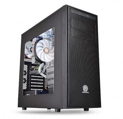 Компьютерные корпуса thermaltake versa h34 и h35 категории mid-tower предназначены для домашних пк