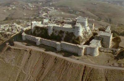 Крак де шевалье — чудо средневековой фортификации