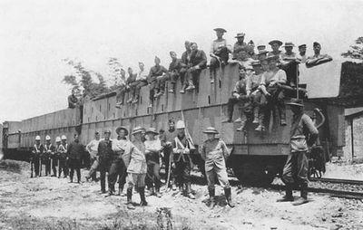 Крепости на рельсах: история бронепоездов