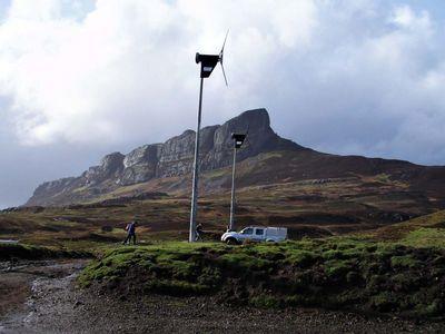 Крошечный остров шотландии самостоятельно обеспечивает себя энергией